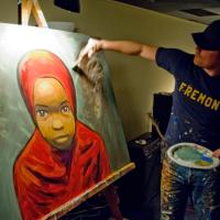 Artist Inspiration: Scott Erickson, Live Painter
