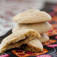 Salted Nutella Filled Sugar Cookies (otherwise known as my diet downfall)