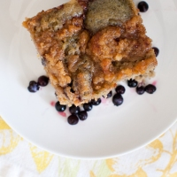 Wicked Blueberry Coffee Cake