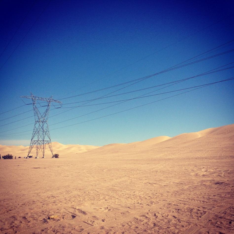 Arizona Sand dunes