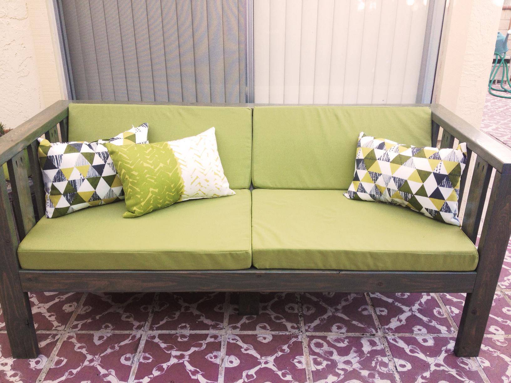 Our DIY Patio Sofa Vivagood