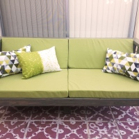 Our DIY Patio Sofa