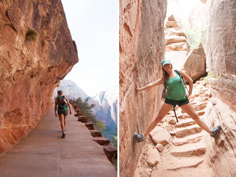 Zion-hiking
