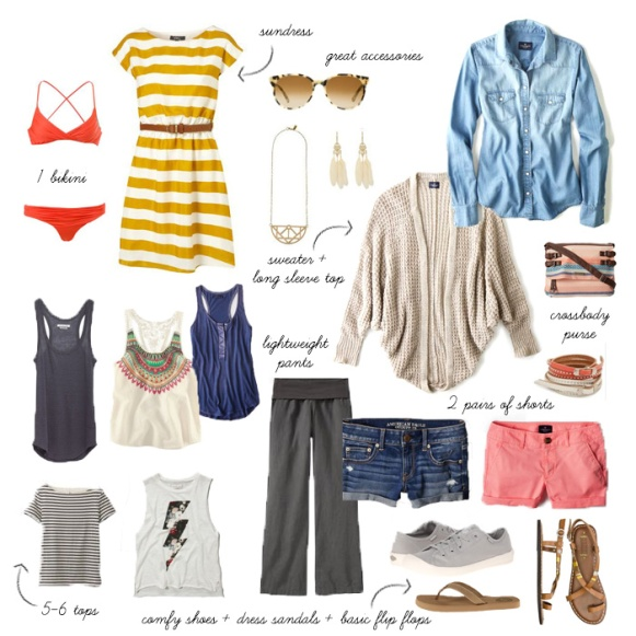 Packing List SE Asia