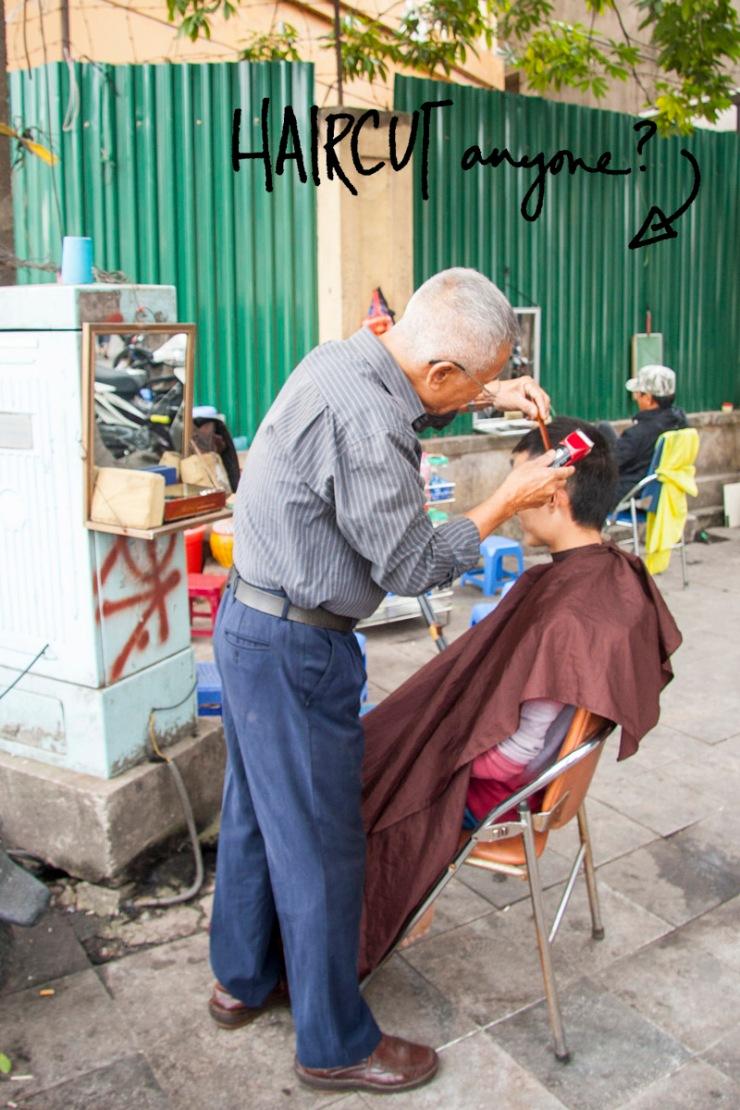 Hanoi-haircut
